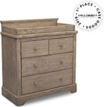 Simmons Kids SlumberTime Paloma 4 Drawer Dresser with Changing Top, Rustic Driftwood