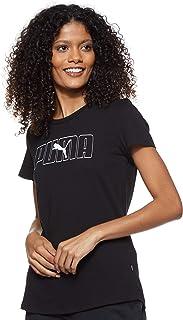 Puma Women's Rebel Graphic T-shirt, Black, X-Small