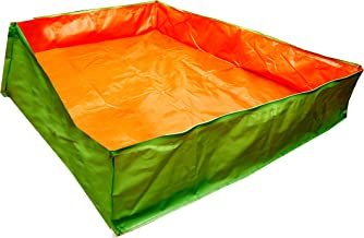 BIO Blooms Agro India PVT LTD Grow Bag Very Big Tub 6'x4'x1' Feet for Gardening,200gsm, Uv Treated 4 to 5 Years Life, Less...