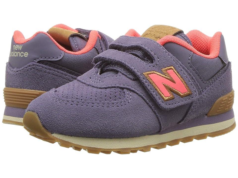 New Balance Kids IV574v1 (Infant/Toddler) (Deep Cosmic Sky/Dragonfly) Girls Shoes