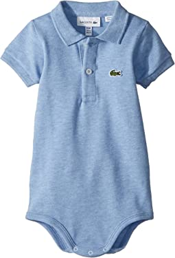 Lacoste Kids Layette Short Sleeve Pique Body Gift Box (Infant)
