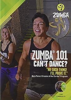 Zumba 101 Dance Fitness for Beginners Workout DVD Original Version,..