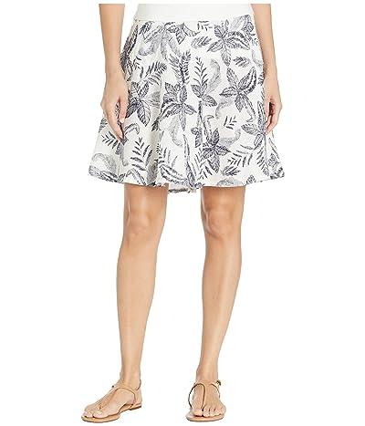 Royal Robbins Cool Mesh Eco Skirt II (Creme Print) Women
