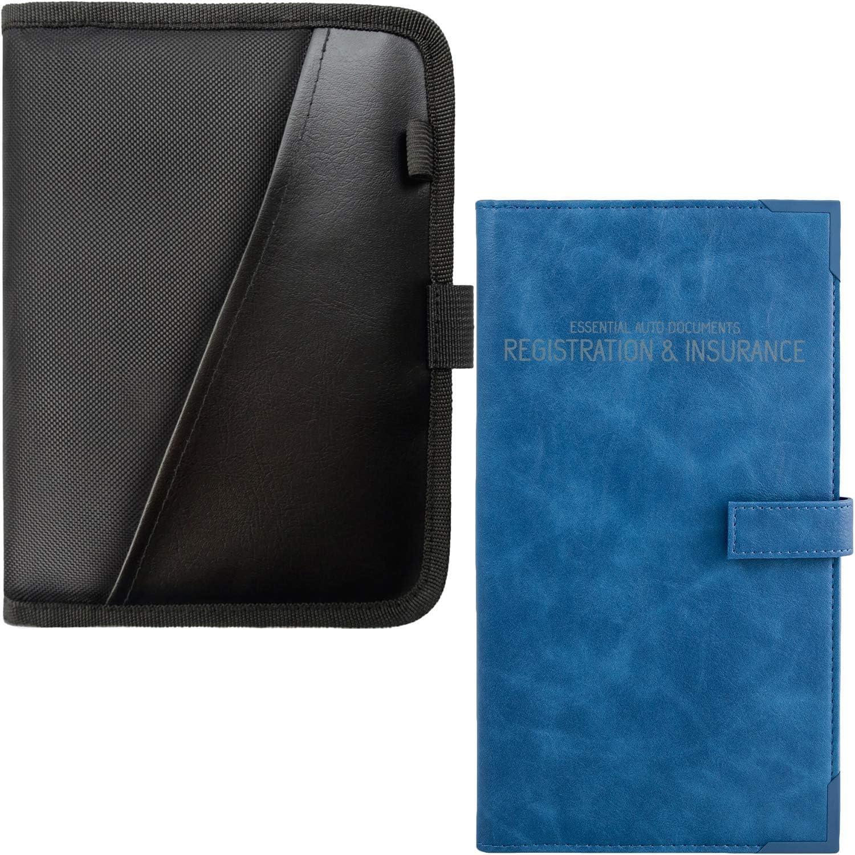 BLACK Car Glove Box Compartment BLUE Free shipping + Insurance Auto Organizer Max 43% OFF