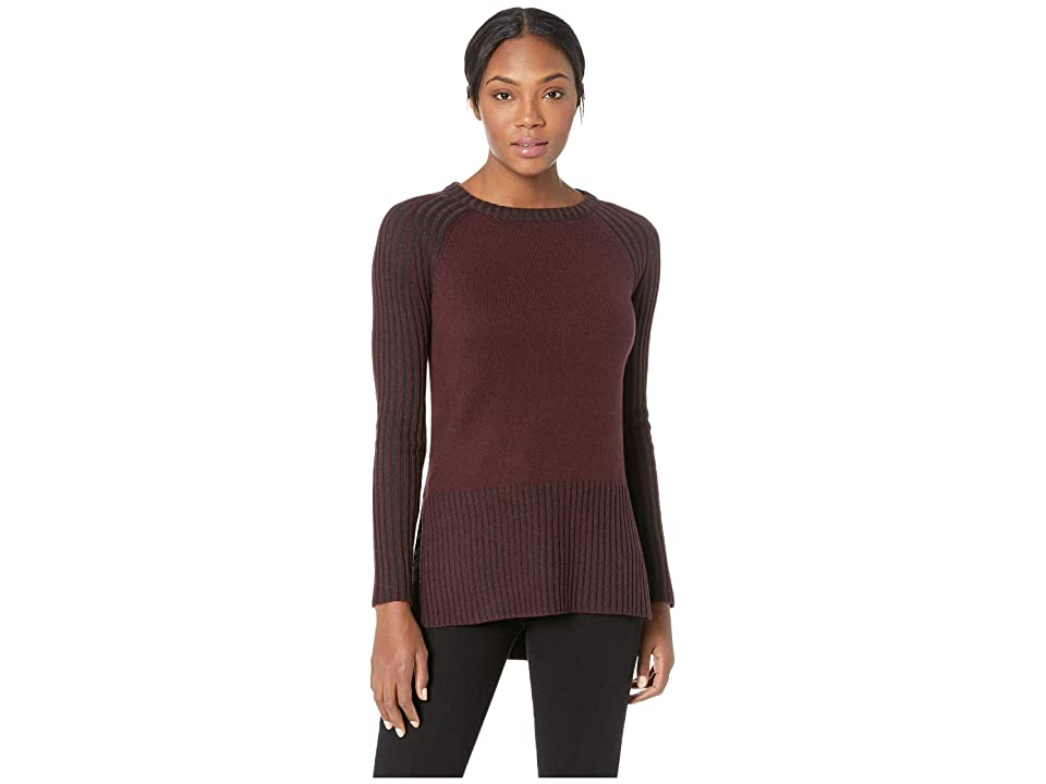 71705c956 Smartwool Ripple Creek Tunic Sweater (Fig Heather) Women s Sweater