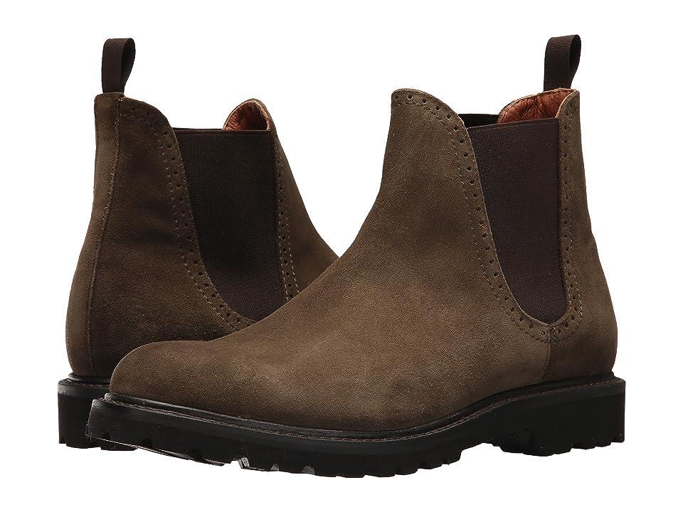 Wolverine Heritage Cromwell Boot (Dark Olive Suede) Men