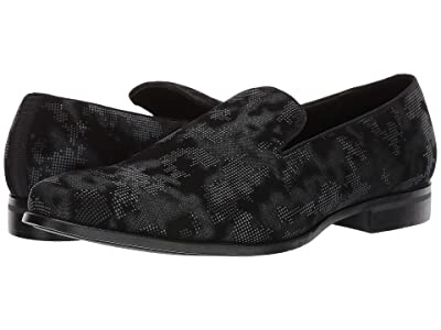 Stacy Adams Swank Pixelated Camo Slip-On (Gray Multi) Men