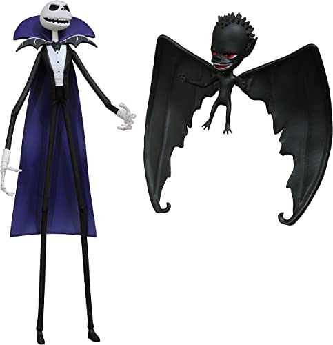 Diamond Select Toys The Nightmare Before Christmas Select  Vampire Jack & BATBOY Action Figur 2er Pack