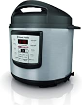 Russell Hobbs RHPC1000 Electric Multi Cooker/Pressure Cooker 6 Liter, Silver
