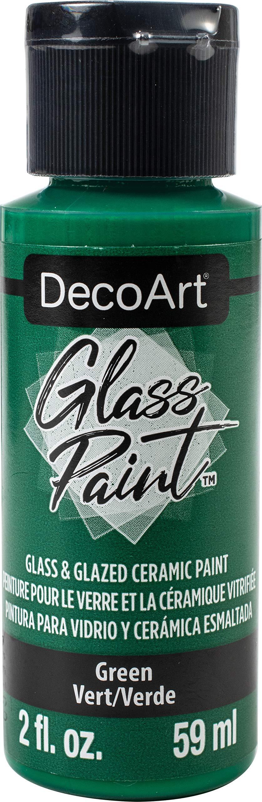 Deco Art GLASS PAINT 2OZ GREEN, us:one size