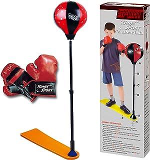 URBN-Toys Kids Punching Ball Guantes de Boxeo Set