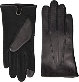 Stitched Hybrid Touch Gloves