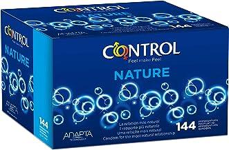 Control Nature Preservativos - Caja de condones con 144 unidades (pack ahorro)