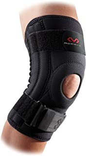 McDavid 421 Level 2 Knee Support with Stays, Black, Large