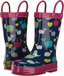 Western Chief Kids - Whales Rain Boot (Toddler/Little Kid/Big Kid)