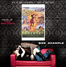 50726 Spirit Stallion of The Cimarron Movie Decor Wall 47x35 Huge Giant Poster Print