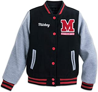 Disney Mickey Mouse Letterman Jacket for Kids Multi
