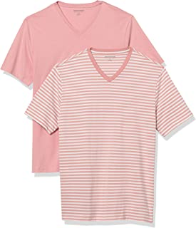 Amazon Essentials 2-Pack Slim-fit V-Neck T-Shirt