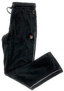 Fila Men's Cyrus Velour Pant Black LM1831AG 001 Size S