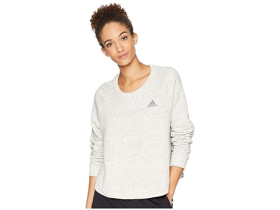 adidas Sport-2-Street Tunic (White Melange/Grey 3) Women