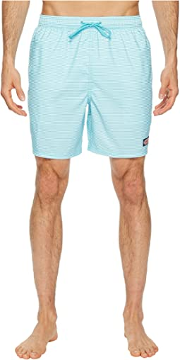 Horizontal Stripe Chappy Swim Trunk