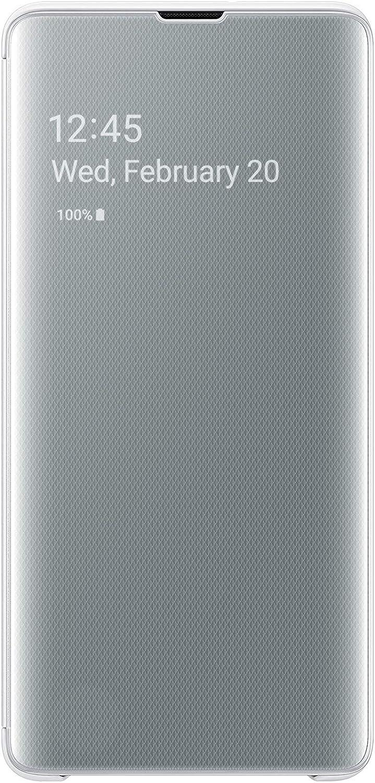 Samsung Galaxy S10+ S-View Flip Case, White