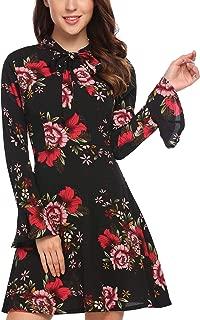 Best floral print bell sleeve dress Reviews