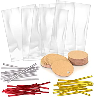 100 Clear Treat Bags (6