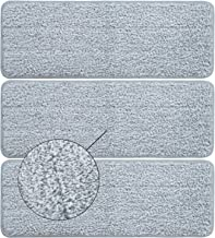 BOOMJOY Mop Pads, Microfiber Cleaning Pads for BOOMJOY Squeeze Flat Mop, Set of 3