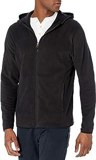 Men's Long-Sleeve Hooded Full-Zip Polar Fleece Jacket