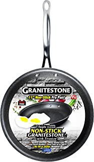 GRANITESTONE Non-stick, No-warp, Mineral-enforced Frying Pans PFOA-Free As Seen On TV (11-inch)