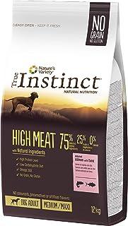 True Instinct High Meat Adult - Nature's Variety - Pienso para Perros Medium Adult con Salmón - 12kg