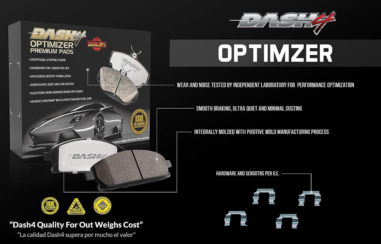 Dash 4 CFD997 Premium Brake Pad Ceramic Optimizer
