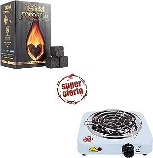 PAIDE P DIGITAL Cocina eléctrica con reijlla para cachimba Shisha Hookah Camping para cocinar carbón
