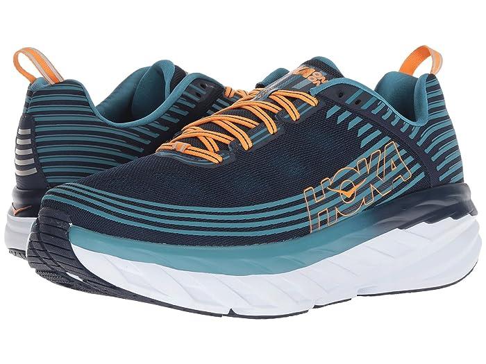 Hoka One One  Bondi 6 (Black Iris/Storm Blue) Mens Running Shoes
