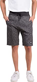 Brooklyn Athletics Men's Gym Shorts Casual Lounge Essential, black streaky, Small
