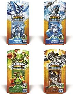 Skylanders Giants Bundle: 4 Character Pack Core Series 2 - Zook, Slam Bam, Whirlwind and Terrafin