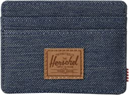 Indigo Denim Crosshatch/Saddle Brown