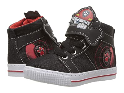 Josmo Kids Paw Patrol High Top Sneaker (Toddler/Little Kid) (Black) Boy