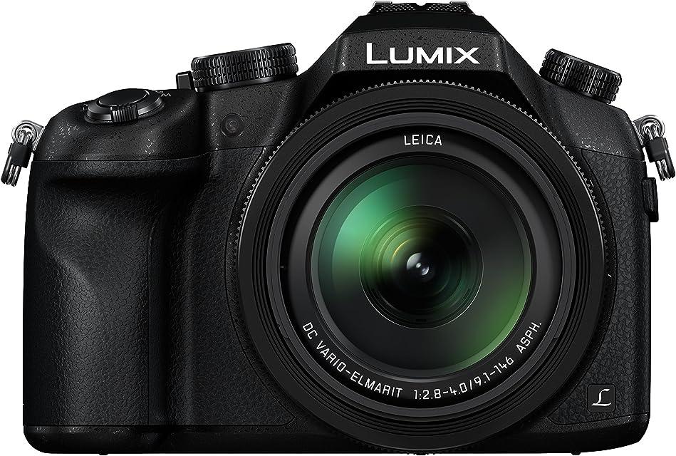 Panasonic Lumix DMC FZ1000 - Cámara Bridge de 20.1 MP (Sensor 1 pulgadas zoom 16X Estabilizador Óptico Objetivo F2.8-F4 de 25- 400 mm 4K WiFi) Color Negro