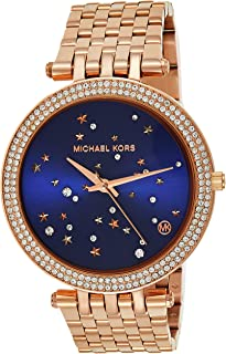 Michael Kors Women's 'Darci' Quartz Stainless Steel Casual Watch, Color:Rose Gold-Toned (Model: MK3728)