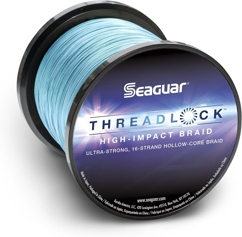 Seaguar Threadlock Braided Fishing Line, blueee, 90kg 600Yard