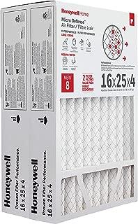 Honeywell Home MicroDefense AC Furnace Air Filter 16 x 25 x 4 MERV 8 (2 pk)