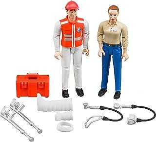 Bruder 62710 bworld Figure Set Ambulance Toy Figure