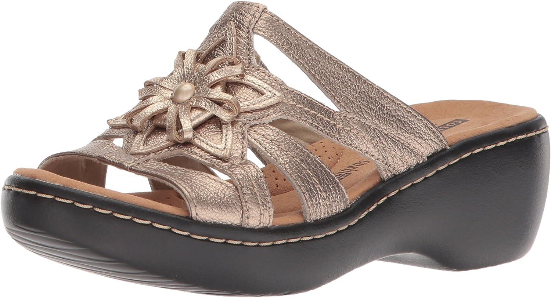 Clarks Womens Delana Venna Platform & Wedge Sandals