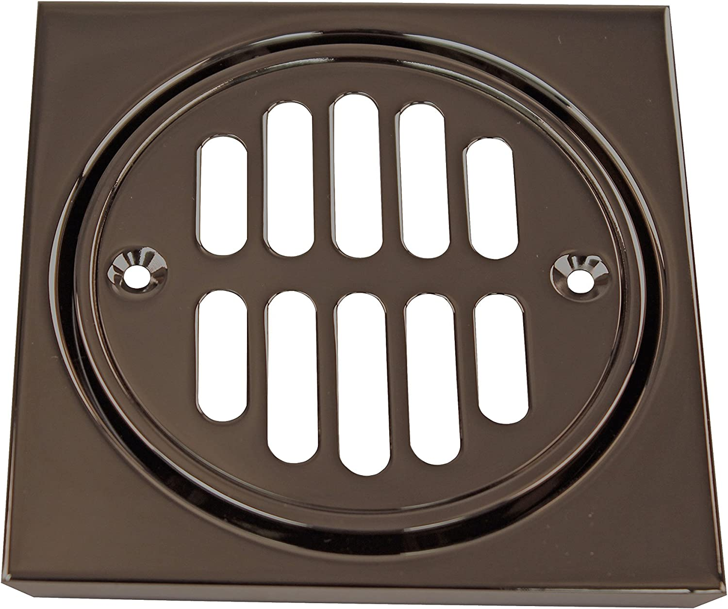 Westbrass Shower Strainer Set Large-scale In a popularity sale Square Bron Crown Oil Rubbed with
