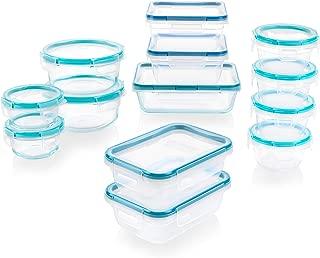 Snapware 1136615 Pyrex Glass and Plastic Food Storage Set, 26 pieces