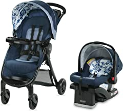 Graco FastAction SE Travel System   Includes FastAction SE Stroller and SnugRide 30 LX Infant Car Seat, Tessa