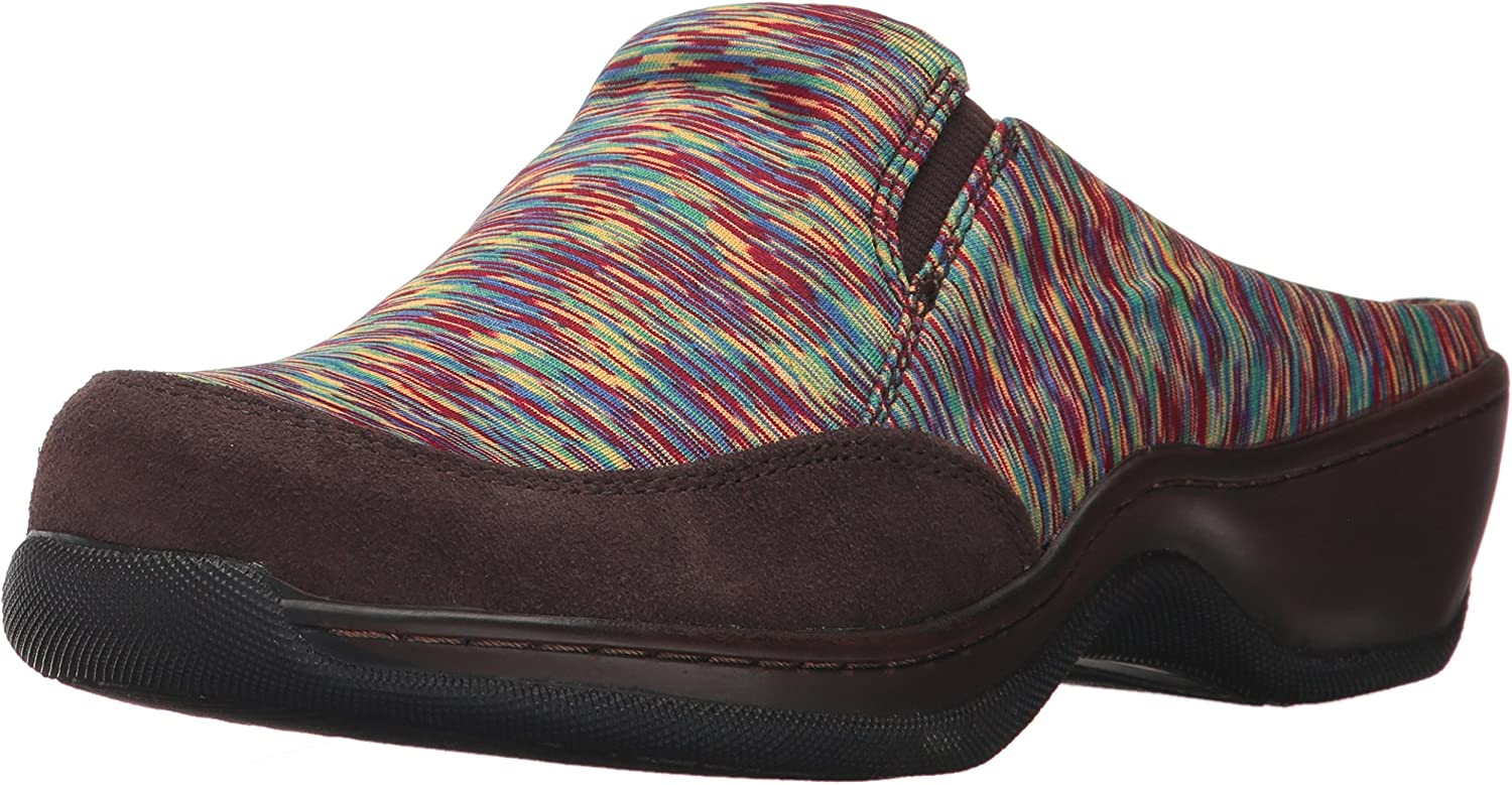 SoftWalk Women's Bombing free shipping Alcon Mule Bright Multi M SEAL limited product US Brown Dark 5