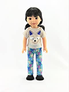 14.5 INCH DOLL: Little Fox Pajamas | Fits 18